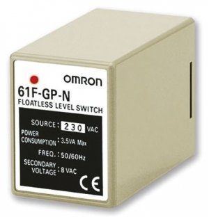 Omron 61FGPN224ACCE Level Controller DIN Rail Mount