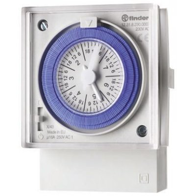 Finder 123182300007 MECHANICAL WEEKLY TIME SWITCH
