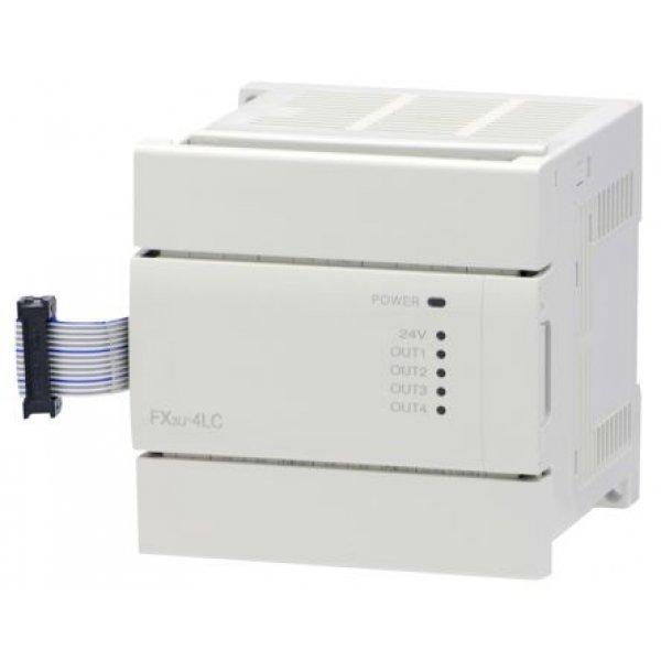 Mitsubishi FX3U-4LC Analogue Module Temperature Control 4 Input 24 Vdc